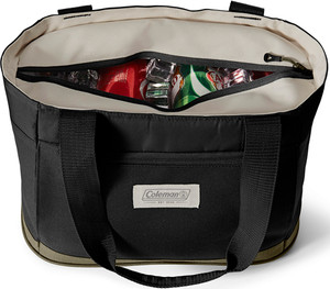 Coleman Soft Cooler Outlander - 20 Can Tote Brown/tan