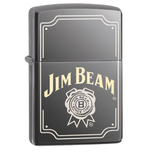 Zippo Black Ice Jim Beam Lighter