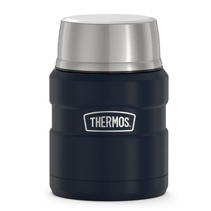 Thermos Stainless King Vacuum Insulated Stainless Steel Food Jar - 16oz - Matte Midnight Blue