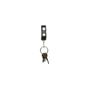 Belt Keeper With Key Snap - 5435-3-GLD