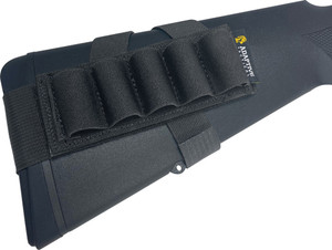 Adaptive Tactical Stock - Mounted Shotshell Carrier Blk
