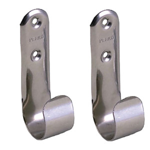 Perko Stainless Steel Boat Hook Holders - Pair