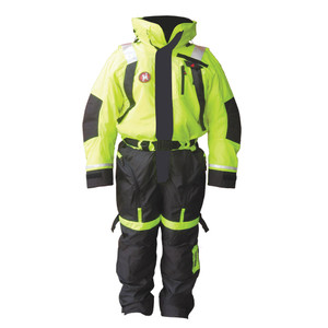 First Watch Anti-Exposure Suit - Hi-Vis Yellow/Black - Small