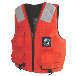 Stearns First Mate Life Vest - Orange - XXX-Large