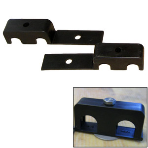 """Weld Mount Double Poly Clamp f/1/4"""" x 20 Studs - 1/2"""" OD - Requires 1.5"""" Stud - Qty. 25"""