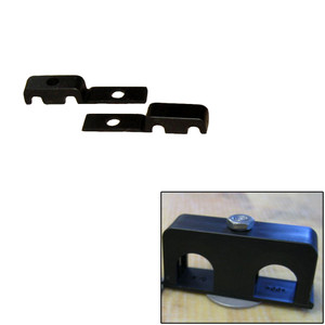"""Weld Mount Double Poly Clamp f/1/4"""" x 20 Studs - 1/4"""" OD - Requires 0.75"""" Stud - Qty. 25"""