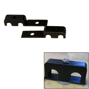 """Weld Mount Double Poly Clamp f/1/4"""" x 20 Studs - 3/8"""" OD - Requires 1"""" Stud - Qty. 25"""