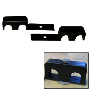 """Weld Mount Double Poly Clamp f/1/4"""" x 20 Studs - 5/8"""" OD - Requires 1.5"""" Stud - Qty. 25"""