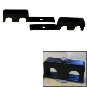 """Weld Mount Double Poly Clamp f/1/4"""" x 20 Studs - 3/4"""" OD - Requires 1.75"""" Stud - Qty. 25"""