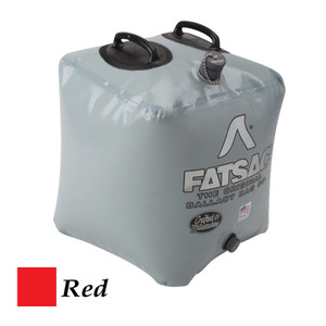FATSAC Brick Fat Sac Ballast Bag - 155lbs - Red