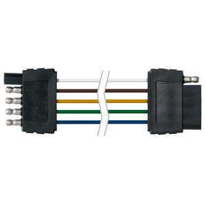 "Ancor Trailer Connector-Flat 5-Wire 48"" Loop"