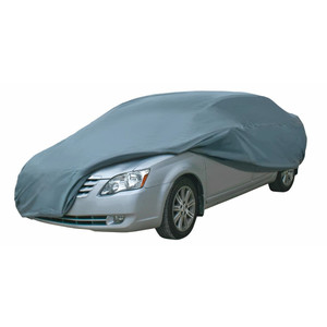 """Dallas Manufacturing Co. Car Cover - Large - Model B Fits Car Length Up To 14'3"""" to 16'8"""""""