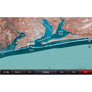 Garmin Standard Mapping - Emerald Coast Classic microSD/SD Card