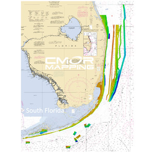 Furuno CMOR Mapping South FL for Navnet TZtouch2