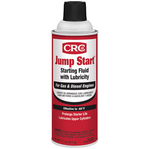 CRC Jump Start Starting Fluid w/Lubricity - 11oz - #05671 *Case of 12
