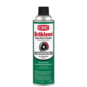 CRC Brakleen Brake Parts Cleaner - Non-Chlorinated - 14oz - #05084 *Case of 12