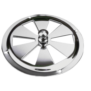 """Sea-Dog Stainless Steel Butterfly Vent - Center Knob - 4"""""""
