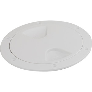 """Sea-Dog Screw-Out Deck Plate - White - 5"""""""