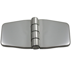 "Southco Stamped Covered Hinge - 316 Stainless Steel - 1.4"" x 3"""