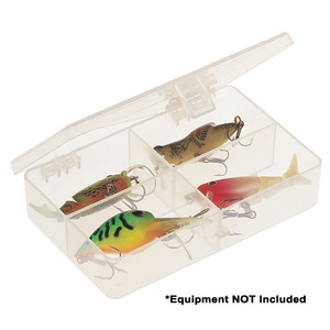 Plano Four-Compartment Tackle Organizer - Clear