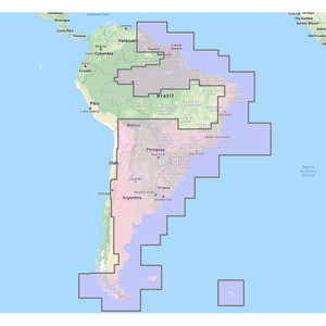 Furuno South America East Vector Charts - 3D Data & Satellite Photos - Unlock Code