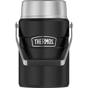 Thermos Food Jar - 47oz - Stainless Steel/Matte Black