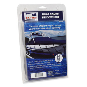 Carver Boat Cover Tie Down Kit
