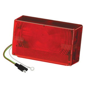 """Wesbar Submersible Over 80"""" Taillight - Right/Curbside"""