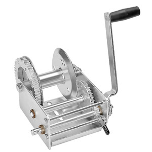 Fulton 3700lb 2-Speed Winch - Cable Not Included