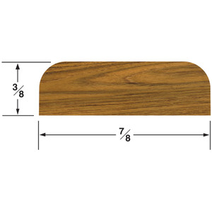 "Whitecap Teak Batten - 7/8""W"