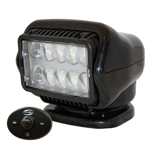 Golight LED Stryker Searchlight w/Wired Dash Remote - Permanent Mount - Black
