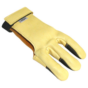 Neet Dg-1l Shooting Glove Leather Tips Small