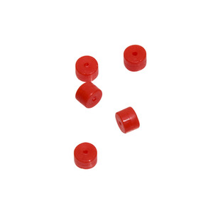 October Mountain Turbo Button 2.0 Red 5 Pk.
