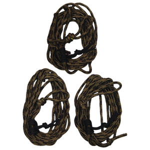 Summit Safety Line W/dual Prussic Knots 30 Ft. 3 Pk.
