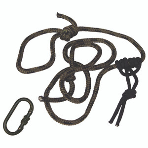 Summit Linesmans Rope W/carabiner 8 Ft.