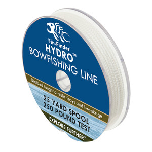 Fin Finder Hydro Bowfishing Line 25 Yds. 250 Lbs.