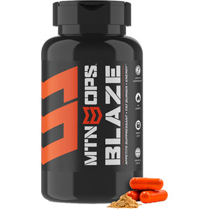Mtn Ops Blaze Capsules Energy/fat Burner/appitite Suppresent 30 Ct.