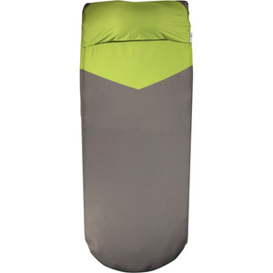 Klymit Luxe V Sheet Pad Cover Green/gray