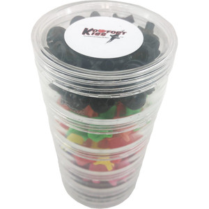 Draves Komfort Kiss Kisser Button Assorted Display 100 Pk.