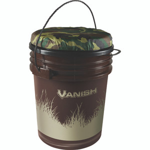 Vanish Dove Bucket W/ Lid Camouflage