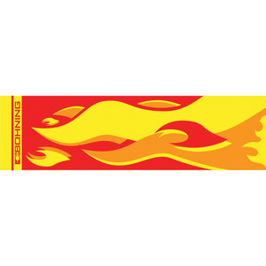 Bohning Arrow Wraps Camp Fire 7 In. Standard 13 Pk.