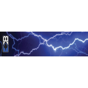 Bohning Arrow Wraps Blue Lightning 7 In. Standard 13 Pk.