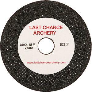 """The LCA 3' Cut-Off Wheel has reinforced silicon carbide construction was originally designed for the LCA Revolution Arrow Saw, but will fit saws with a 1/2"""" arbor mounting hole and a 3"""" diameter blade."""