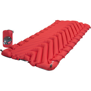 Klymit Insulated Static V Luxe Sleeping Pad Red