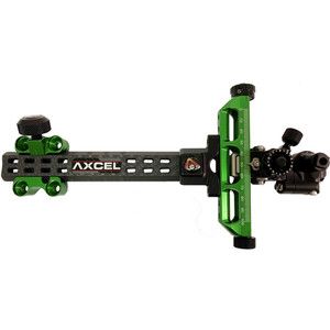 Axcel Achieve Compound X Sight Green/ Black 6 In. Rh