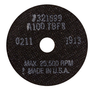 National Abrasives Replacement Saw Blades Fiberglass .035 3 In. 3 Pk.