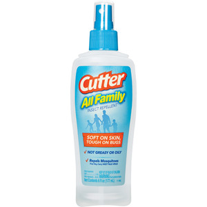 Cutter All Family Insect Repellent Pump 7% Deet 6 Oz.