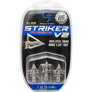 G5 Striker V2 Crossbow Broadheads 125 Gr. 3 Pk.