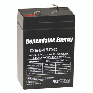 American Hunter Rechargeable Battery 6v F-tab