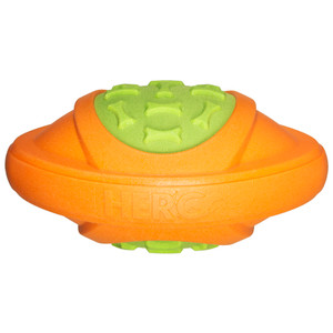 Hero Outer Armor Football Orange/lime Small